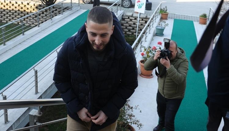 Gheorghe Grozav, Bursaspor için şehre geldi