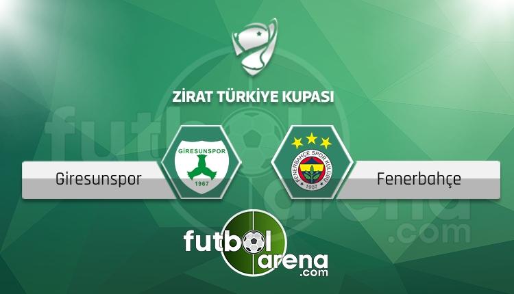 Giresunspor - Fenerbahçe maçı saat kaçta, hangi kanalda? (İddaa Canlı Skor)