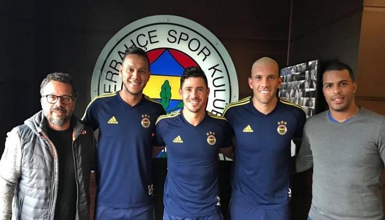Giuliano için Brezilya'dan geldiler! Fenerbahçe - Göztepe maçında...