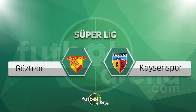 Göztepe - Kayserispor maçı saat kaçta, hangi kanalda? (İddaa canlı skor)