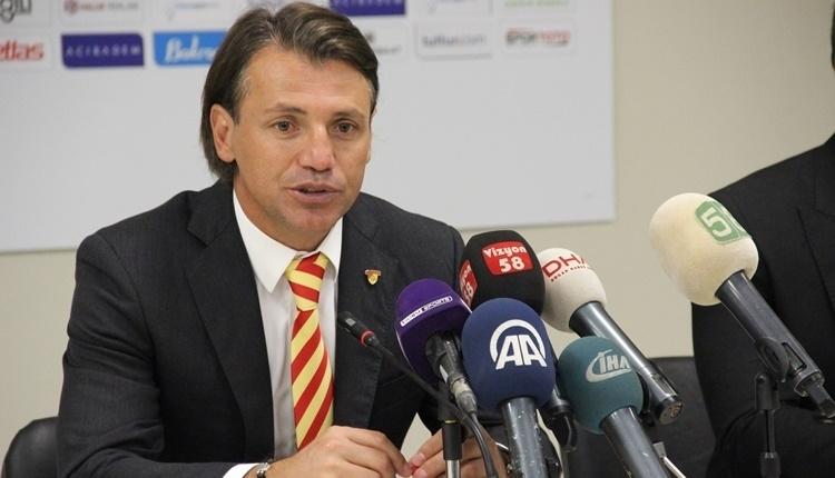 Göztepe'de Tamer Tuna'dan Jahovic açıklaması
