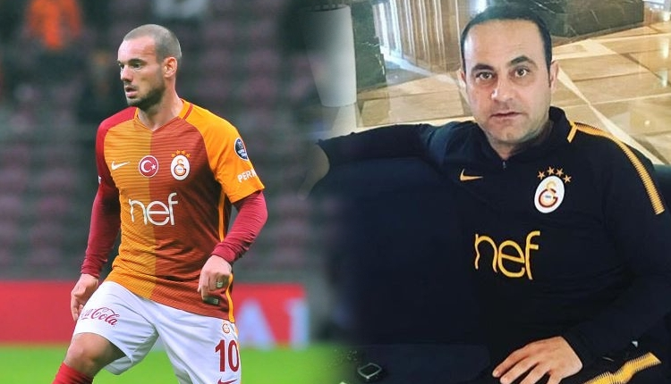 Hasan Şaş'tan Sneijder'e gönderme 'Bitti'