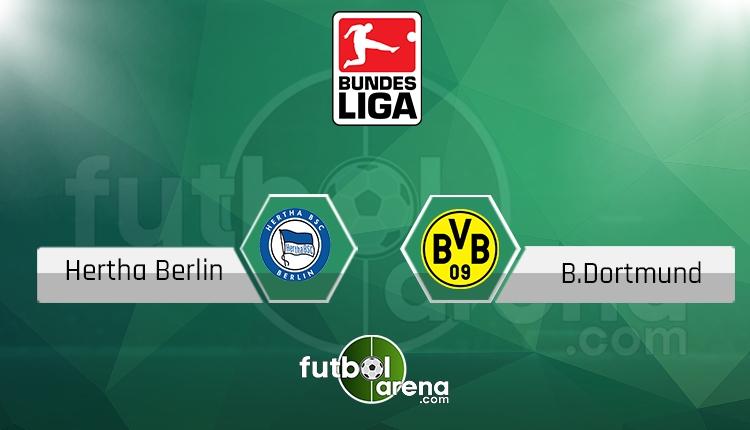 Hertha Berlin - Borussia Dortmundmaçı saat kaçta, hangi kanalda? (İddaa Canlı Skor)