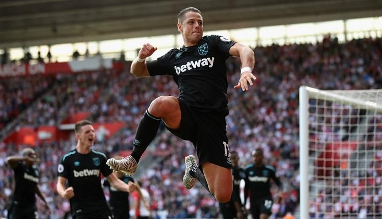 Javier Hernandez, West Ham'ı kurtaran golü attı! Beşiktaş'ın gözdesi...