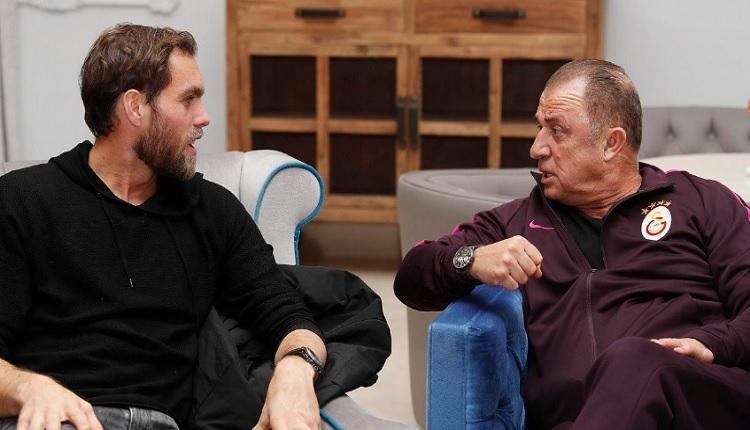 Johan Elmander Galatasaray kampında Fatih Terim ile birlikte