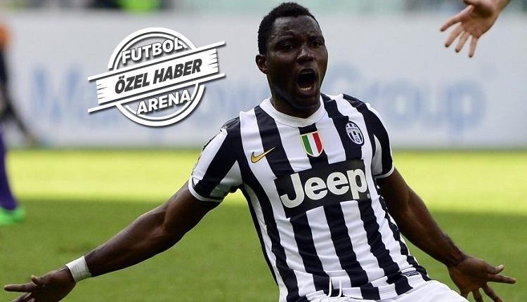 Juventus'tan Galatasaray'ı şaşırtan Asamoah cevabı