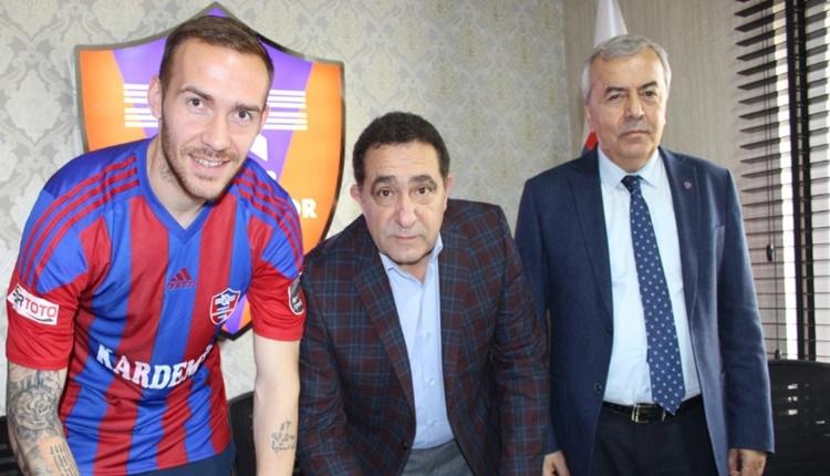 Karabükspor, Anton Kravchenko'yu renklerine bağladı