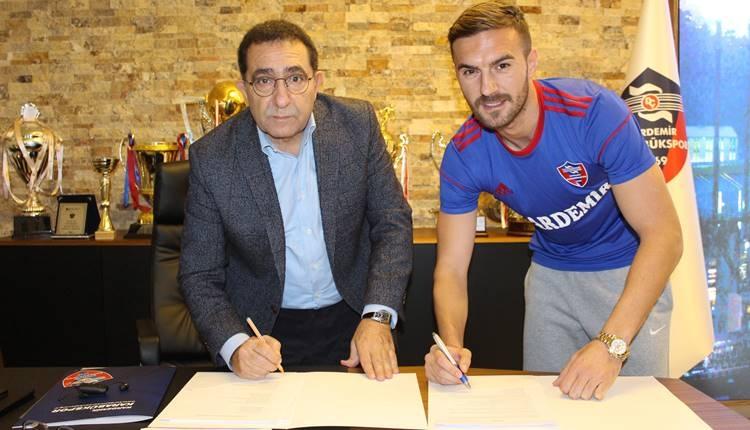 Karabükspor Marius Alexe'yi transfer etti