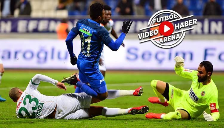 Kasımpaşa 3-2 Alanyaspor maçı özeti ve golleri (İZLE)