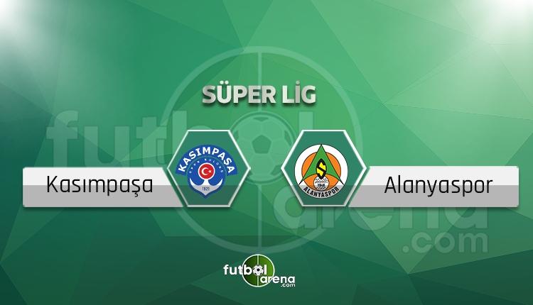 Kasımpaşa - Alanyaspor maçı saat kaçta, hangi kanalda? (İddaa canlı skor)