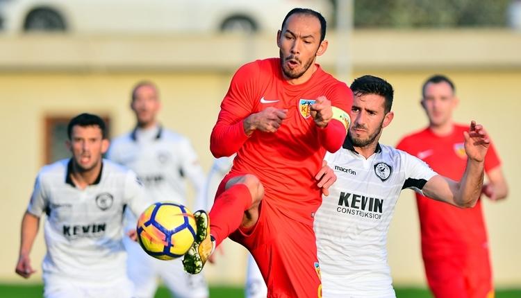 Kayserispor 1-2 Kukesi hazırlık maçı özeti ve golleri (İZLE)