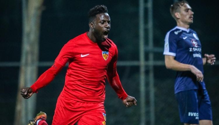 Kayserispor 4-1Slovacko hazırlık maçı özeti ve golleri