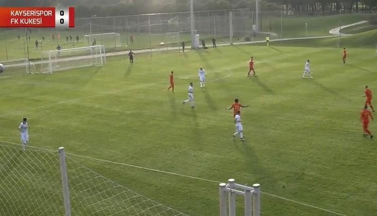 Kayserispor Kukesi hazırlık maçı canlı izle