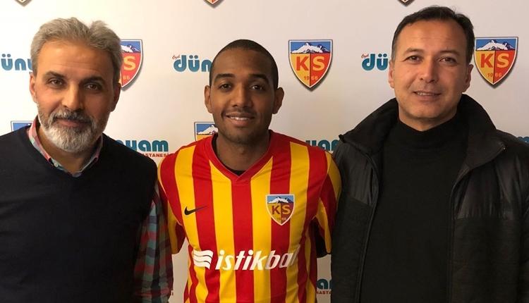 Kayserispor, William Douglas De Amorim transferini resmen açıkladı