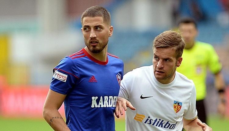 Kayserispor'dan 2. transfer! Gheorghe Grozav ile anlaşmaya varıldı