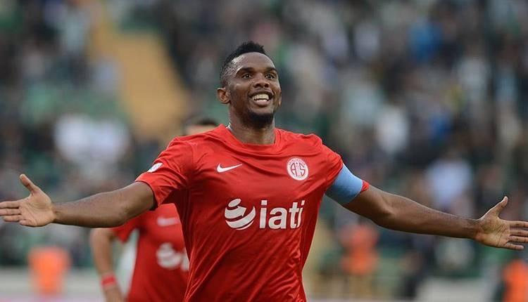 Konyaspor, Eto'o transferini resmen açıkladı!