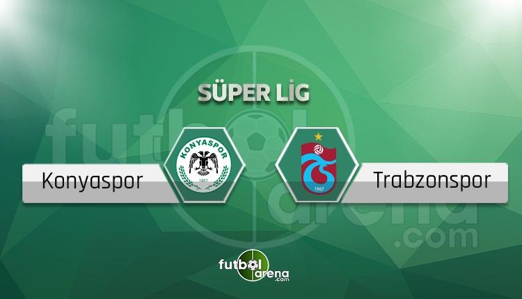 Konyaspor - Trabzonspor maçı saat kaçta, hangi kanalda? (İddaa Canlı Skor)