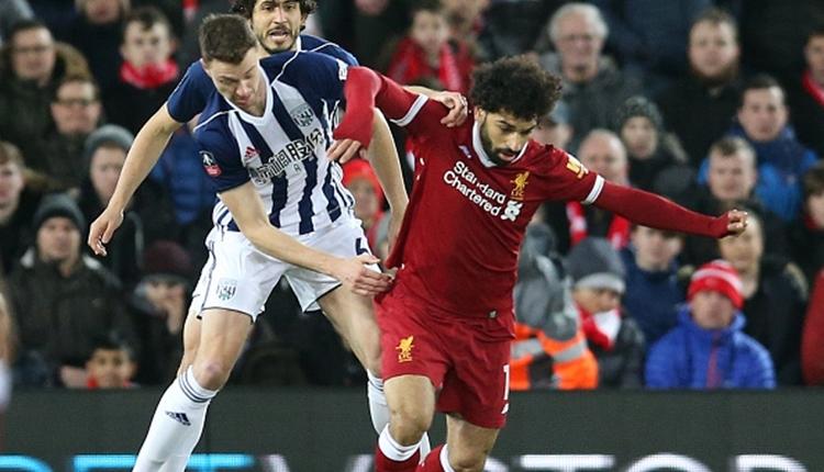 Liverpool 2-3 West Bromwich Albion maç özeti ve golleri