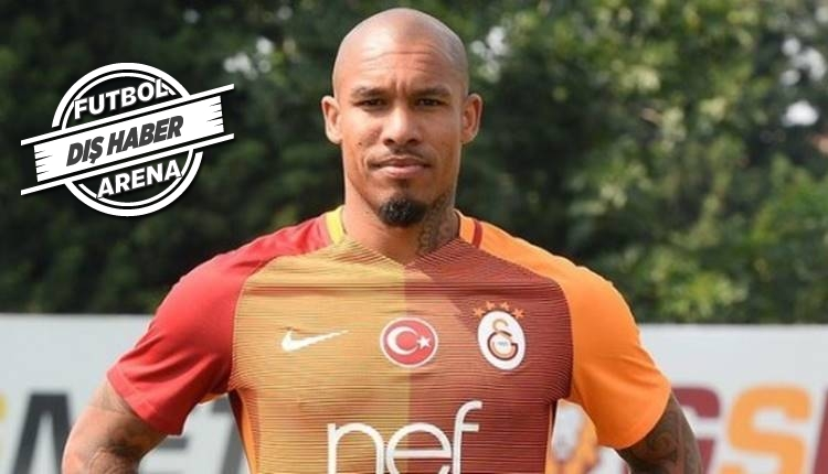 Mainz Galatasaray'dan ayrılan Nigel de Jong'u transfer etti