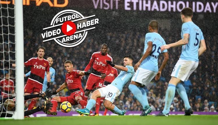 Manchester City 3-1 Watford maçı özeti ve golleri