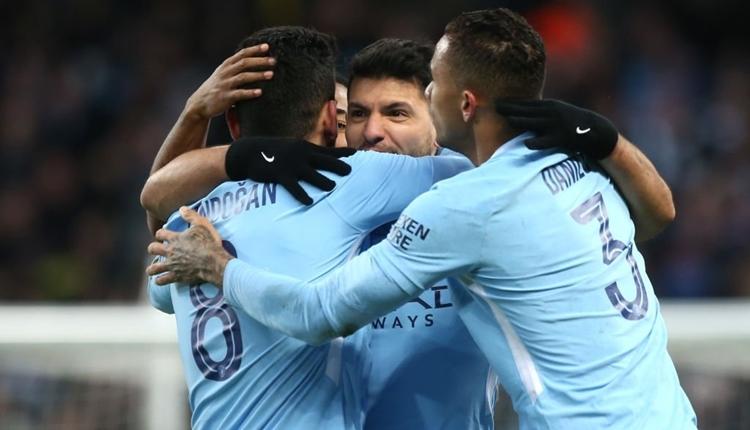Manchester City 4-1 Burnley maç özeti ve golleri