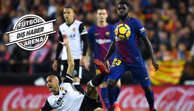 Manchester City, Barcelona'dan Samuel Umtiti'yi transfer ediyor