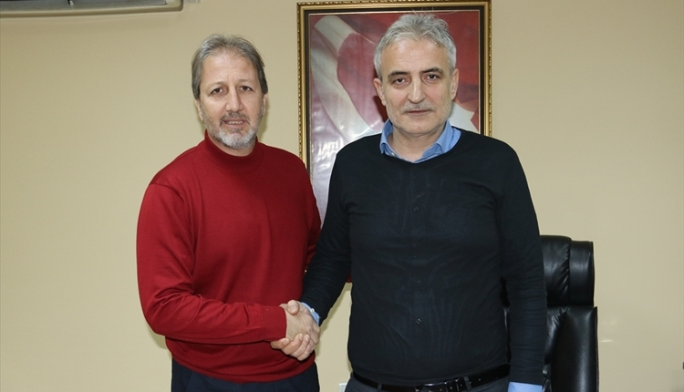 Manisaspor teknik direktör Taner Taşkın ile sözleşme imzaladı