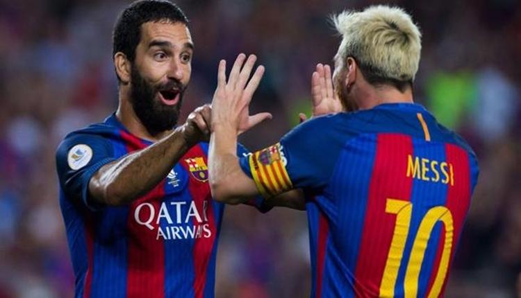 Messi'den Arda Turan'a veda mesajı: