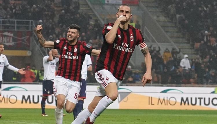 Milan 1-0 Crotone maç özeti ve golü (İZLE)