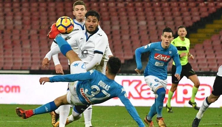 Napoli 1-2 Atalanta maç özeti ve golleri (İZLE)