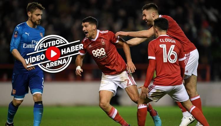 Nottingham Forest 4-2 Arsenal maçı özeti ve golleri (İZLE)