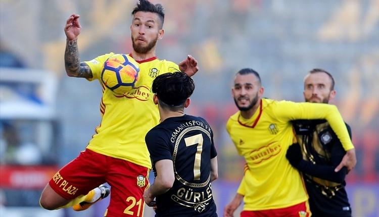 Osmanlıspor 0-0 Yeni Malatyaspor maç özeti (İZLE)