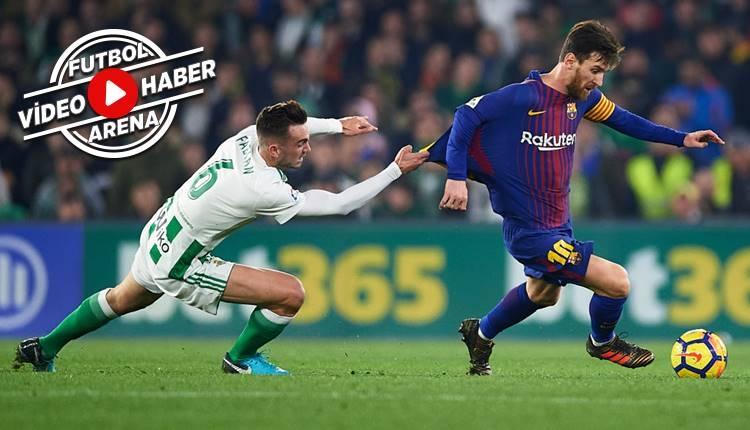 Real Betis 0-5 Barcelona maçı özeti ve golleri (İZLE)