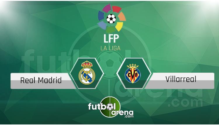 Real Madrid Villarreal maçı saat kaçta, hangi kanalda? (İddaa Canlı Skor)
