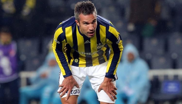 Robin van Persie'den Fenerbahçe'ye veda mesajı