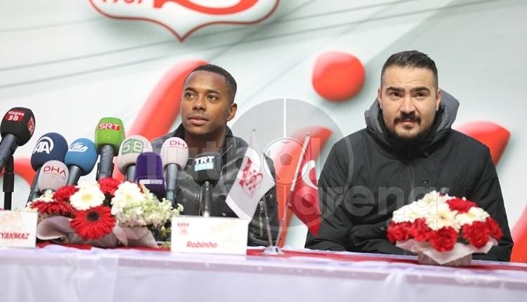 Robinho, Sivasspor ile sözleşme imzaladı! 'Merhaba gardaş'