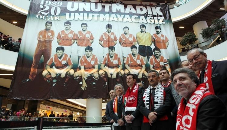 Samsunspor 29 yıllık acısını yad etti! Yürek burkan anlar