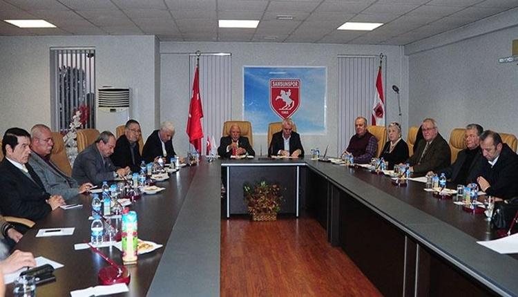 Samsunspor'dan divanda destek çağrısı