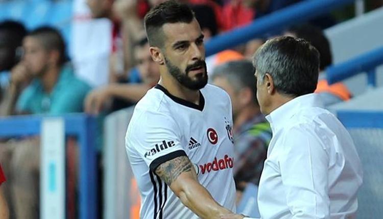 Şenol Güneş'ten Alvaro Negredo ile özel toplantı