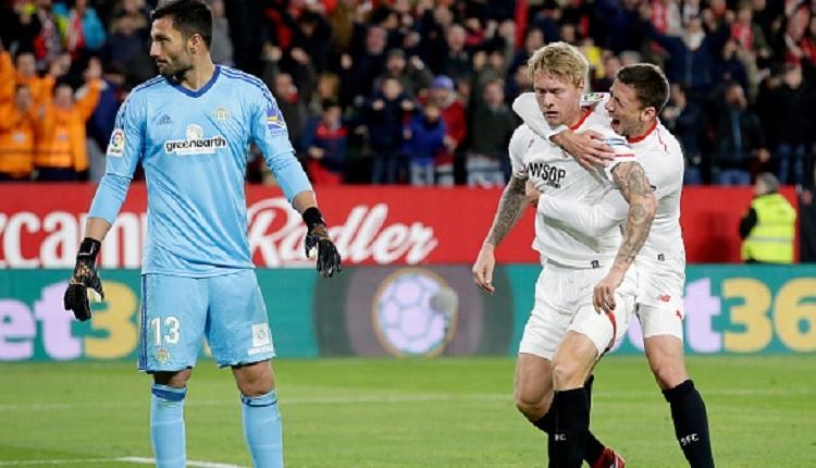 Simon Kjaer Sevilla'da ilk golünü attı (İZLE)