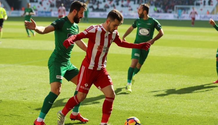Sivasspor 1 - 1 Akhisarspor maç özeti ve golleri (İZLE)