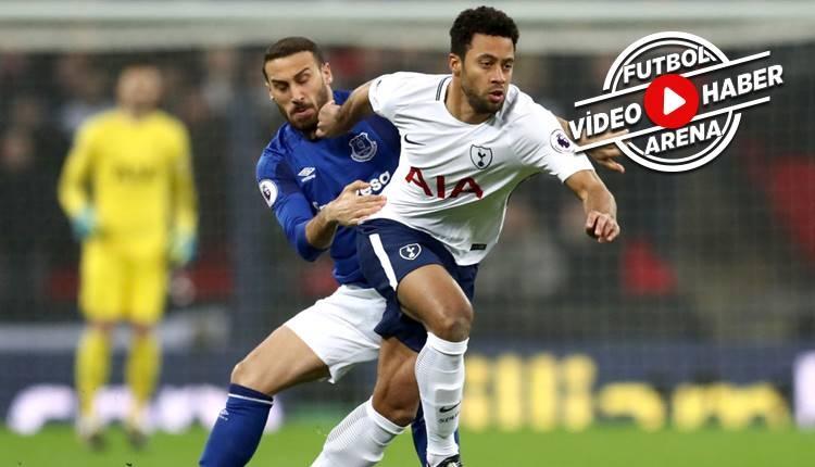Tottenham 4-0 Everton maçı özeti ve golleri (İZLE)