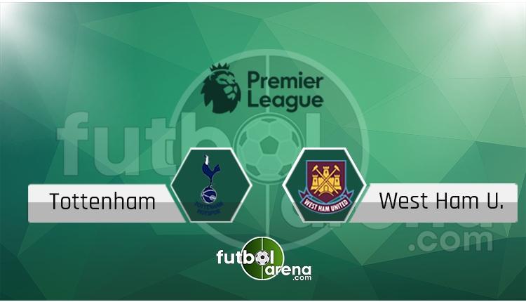 Tottenham - West Ham maçı saat kaçta, hangi kanalda? (İddaa Canlı Skor)
