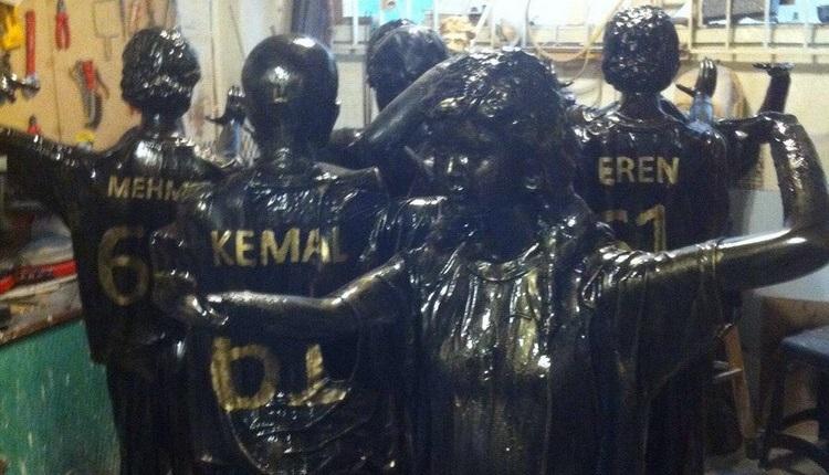 Trabzon'da Fenerbahçe öncesi şike anıtı dikiliyor