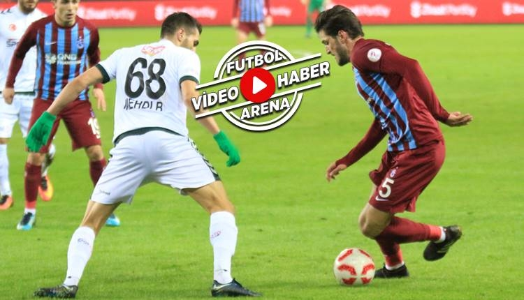 Trabzonspor 1-1 Konyaspor maçı özeti ve golleri (İZLE)
