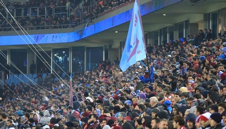 Trabzonspor - Fenerbahçe maçında seyirci rekoru kırıldı