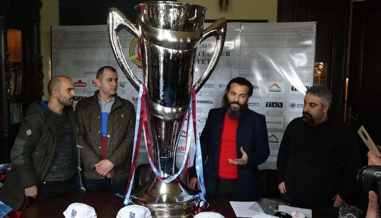 Trabzonspor taraftarından 'Şike Anıtı'