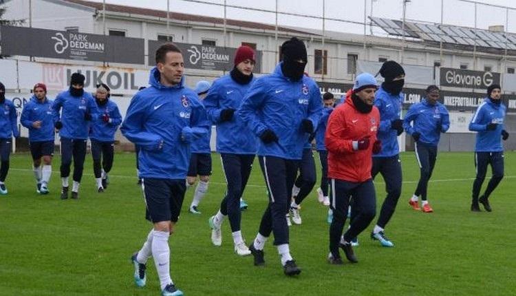 Trabzonspor'da Burak Yılmaz antrenmana katıldı mı?