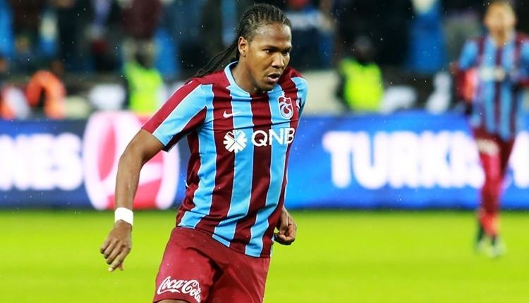 Trabzonspor'da Rodallega idmanı yarım bıraktı