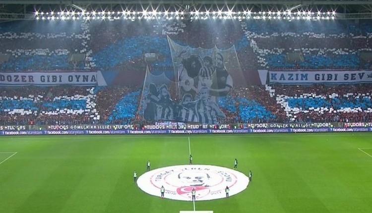 Trabzonspor'dan Fenerbahçe maçına özel koreografi